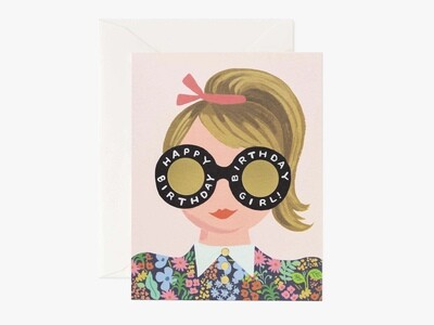 Meadow Birthday Girl Card - Rifle Paper Co. RPC122