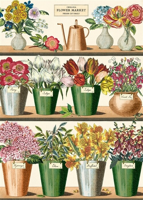 Flower Market Poster #100