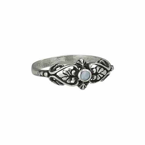 Sterling Silver Mother of Pearl Ring - RTM2750