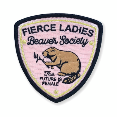 Beaver Society Embroidered Patch - AQPA9