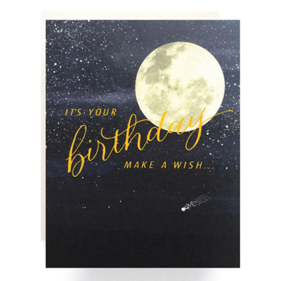 Shooting Star Birthday Greeting Card - AQ29