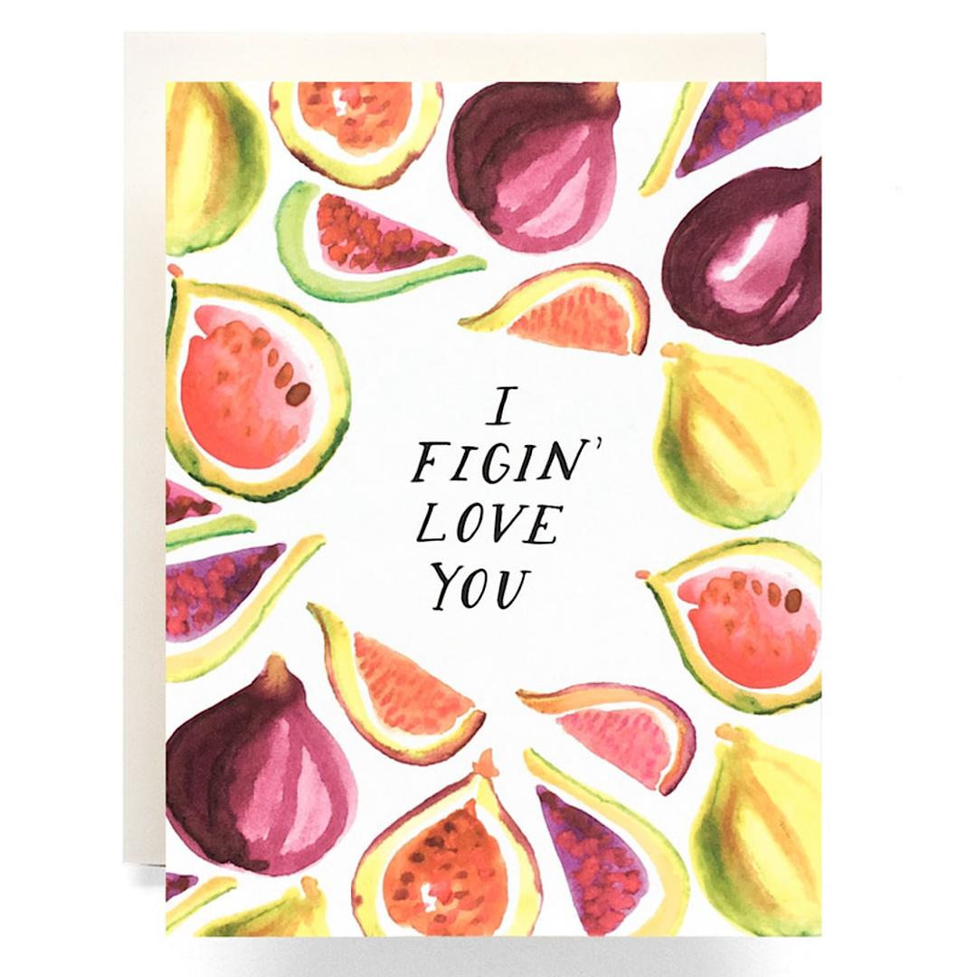 Figing Love You Greeting Card - AQ26