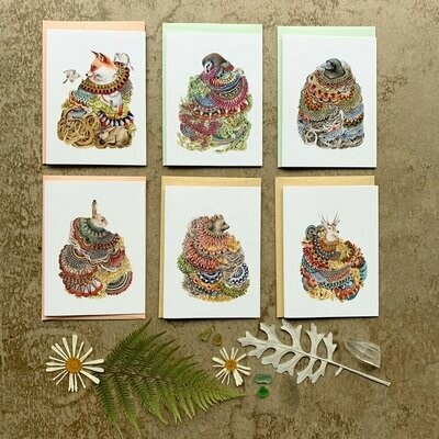 Quilted Forest Small Card Pack - PH102