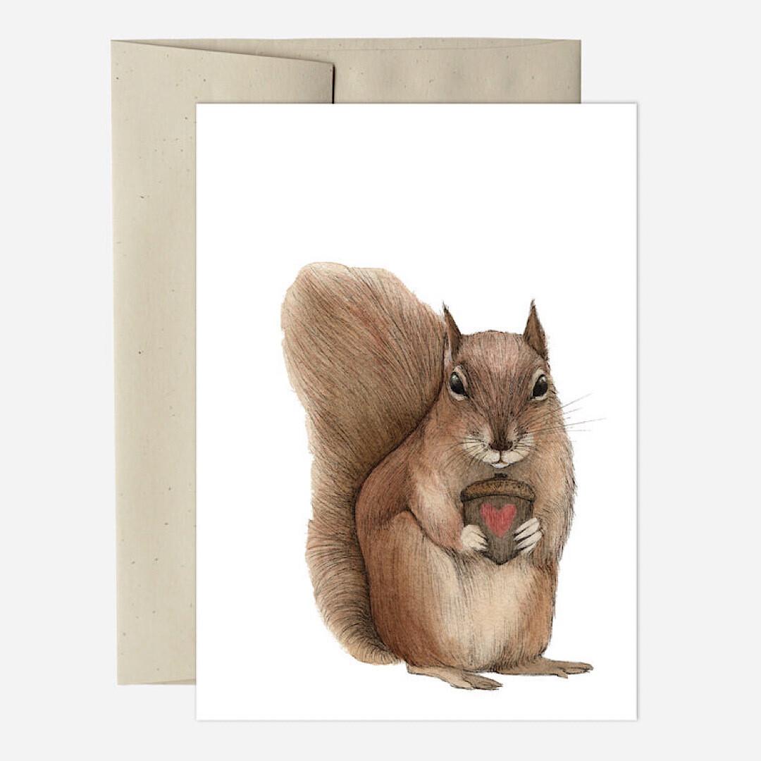 PH14 Nutty Love Greeting Card