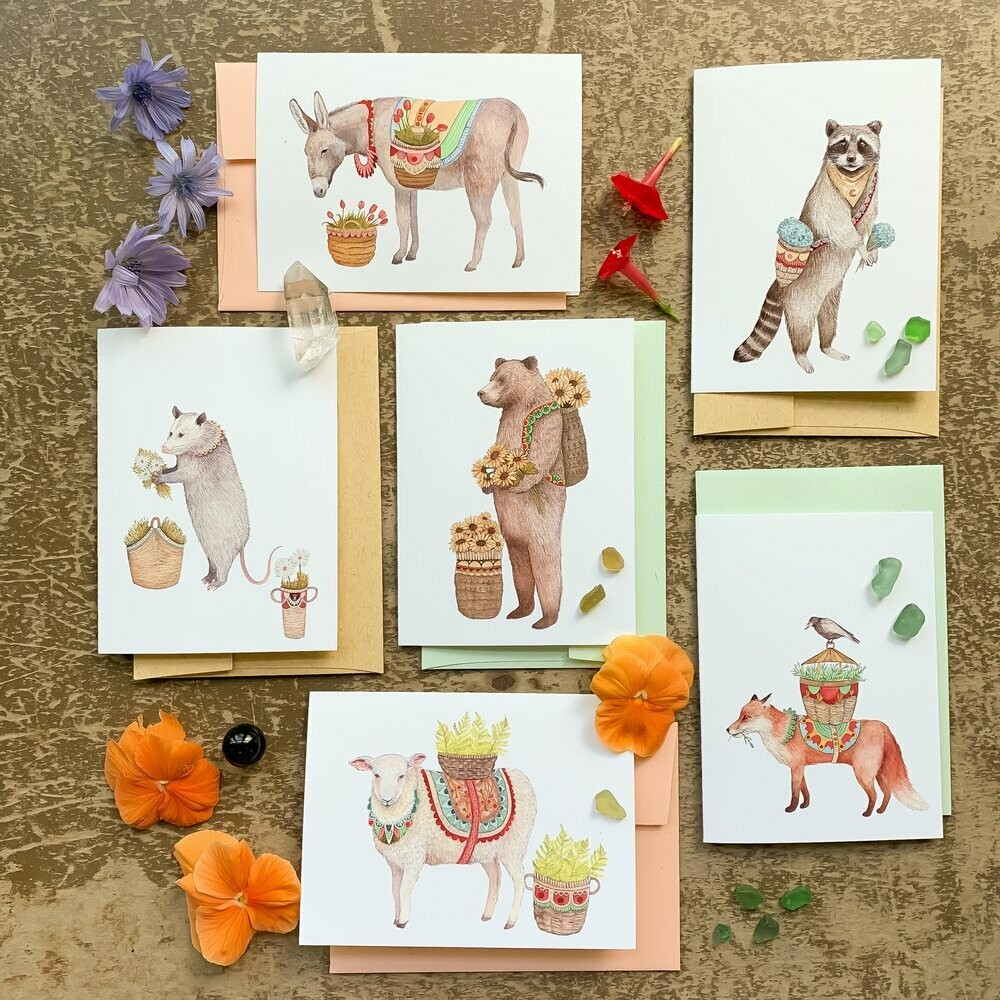 Flower Messengers Small Card Pack - PH105