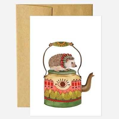 PH21 Teapot Greeting Card