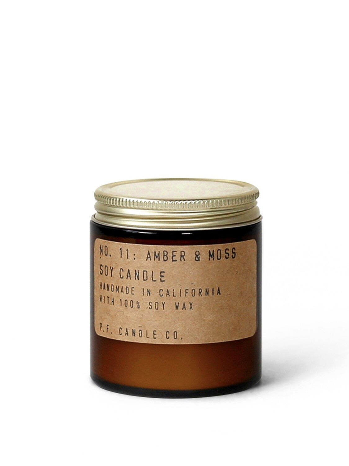 Amber & Moss Mini 3.5 oz Soy Candle - P.F. Candle Co.