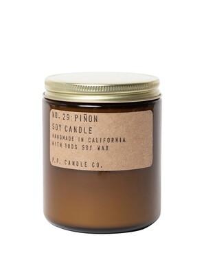 Piñon 7.2 oz Soy Candle - P.F. Candle Co.