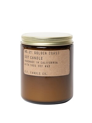 Golden Coast 7.2 oz Soy Candle - P.F. Candle Co.