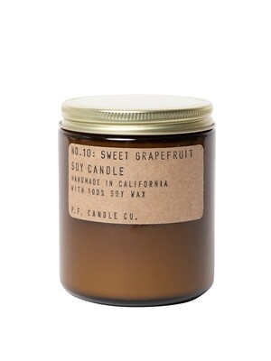 Sweet Grapefruit 7.2 oz Soy Candle - P.F. Candle Co.