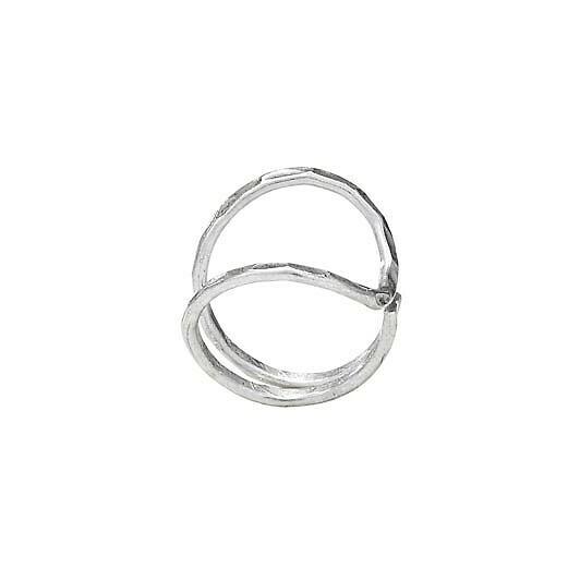 Sterling Silver Hammered Wrap Ring - RTM2070