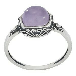 Sterling Silver Lavender Amethyst Ring - RTM3758