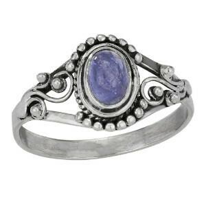 Sterling Silver Tanzanite Ring - RTM3959