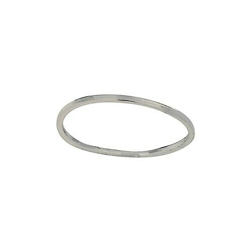 Sterling Silver Skinny Minimalist Band - RTM4273