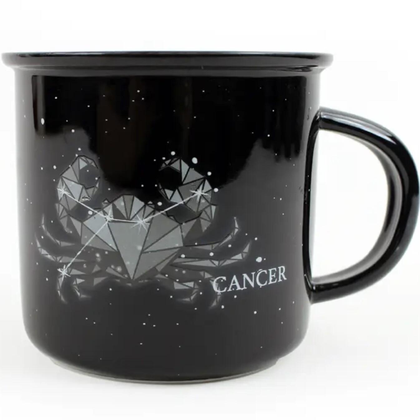 Cancer Constellation Ceramic Camp Mug