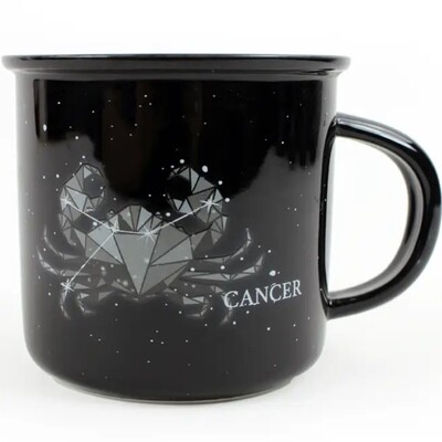 Cancer Constellation Ceramic Camp Mug