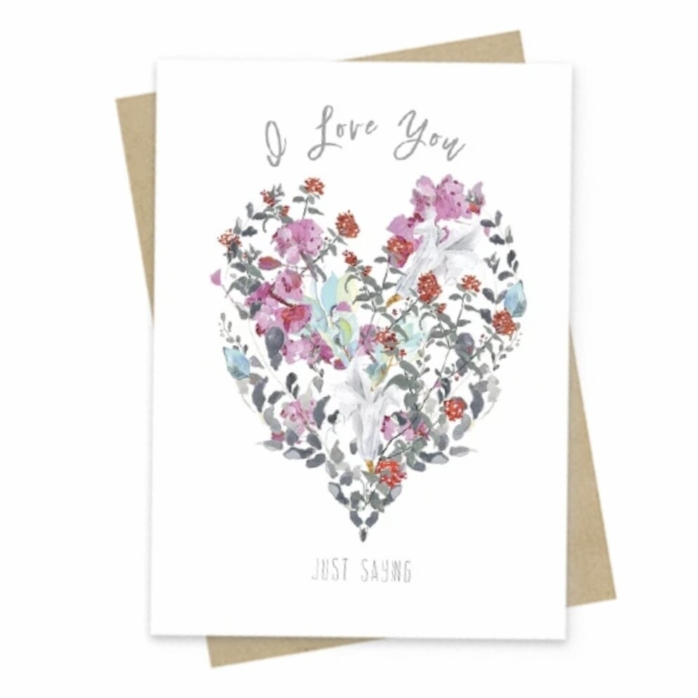 Just Saying Small Greeting Card - PAC137