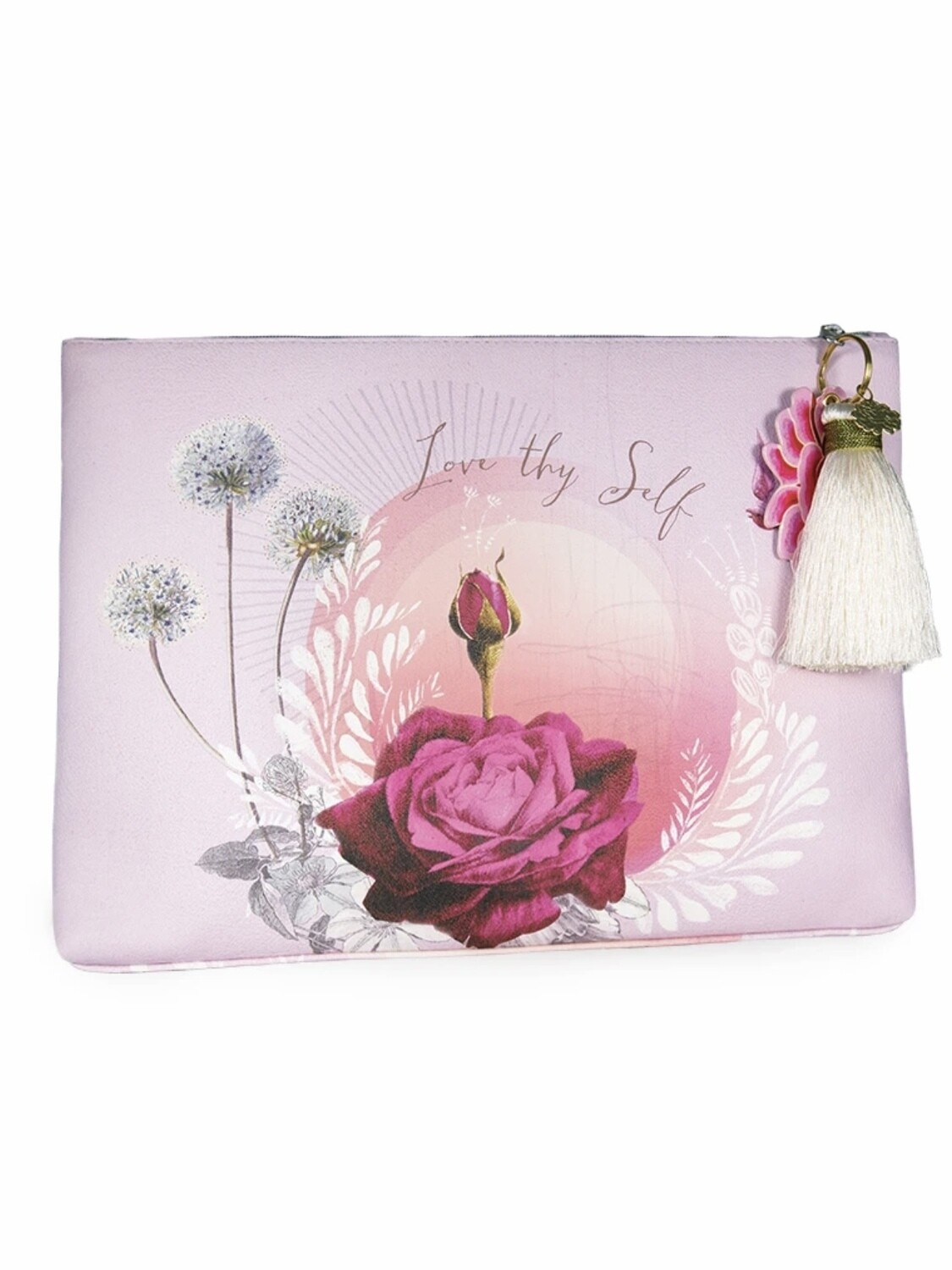 Love Thyself Rose Large Pouch - PAB17