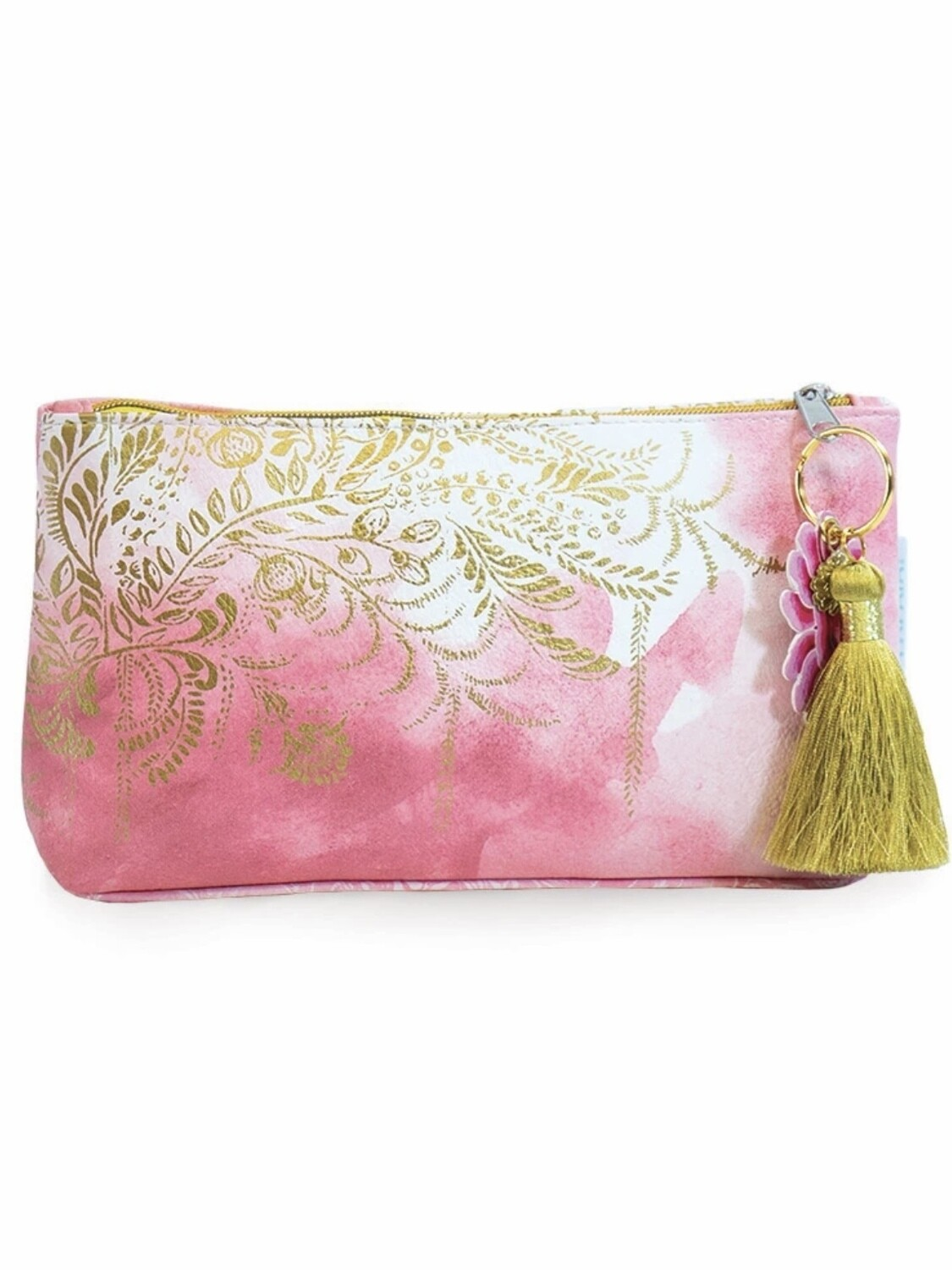 Blush Watercolor Small Pouch - PAB22