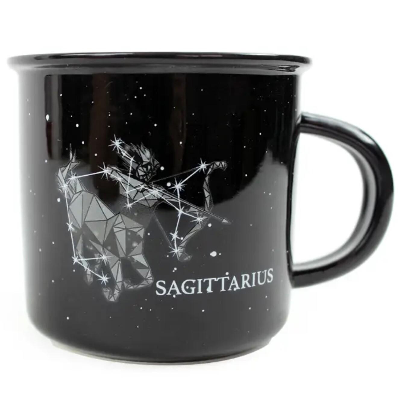Sagittarius Constellation Ceramic Camp Mug
