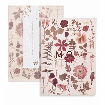 Mom Botanical Greeting Card - PAC132