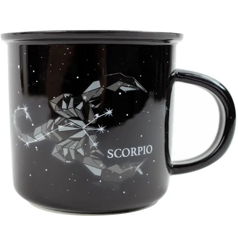 Scorpio Constellation Ceramic Camp Mug