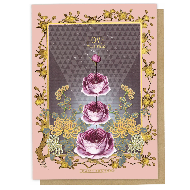 Love Multiplies Greeting Card - PAC334