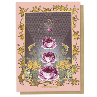 Love Multiplies Greeting Card - PAC334