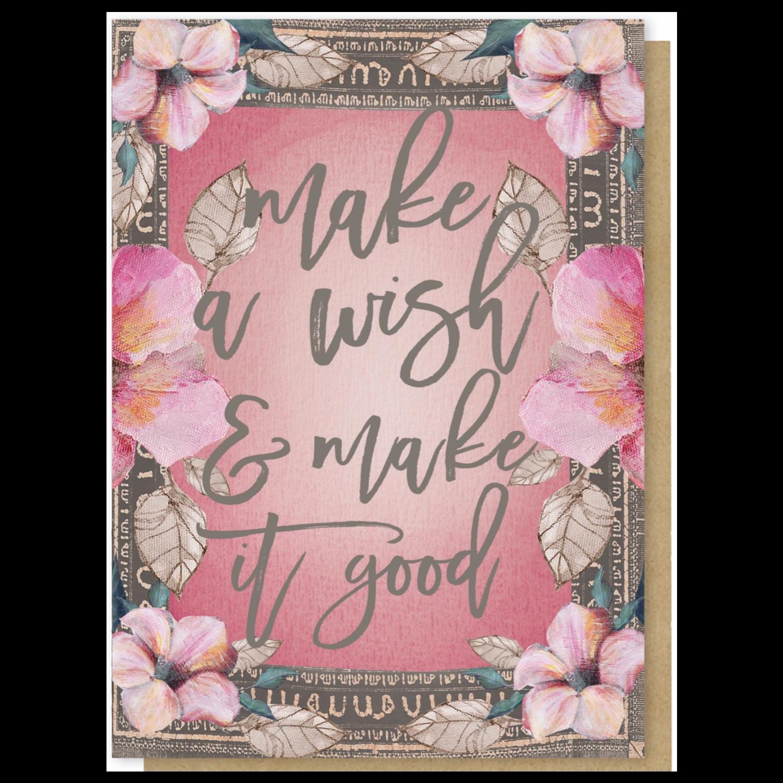 Make A Wish Greeting Card - PAC287