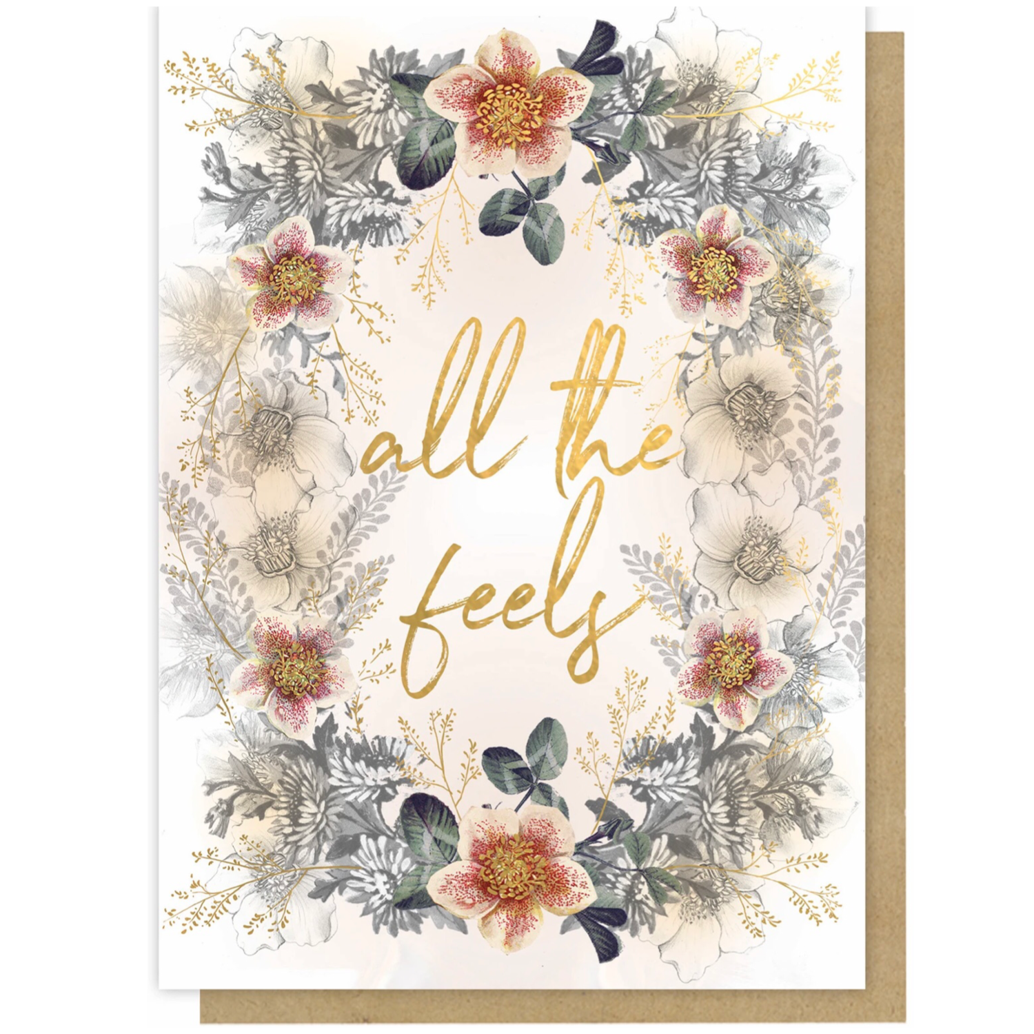All The Feels Greeting Card - PAC325
