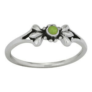 Sterling Silver Gaspeite Ring - RTM3900