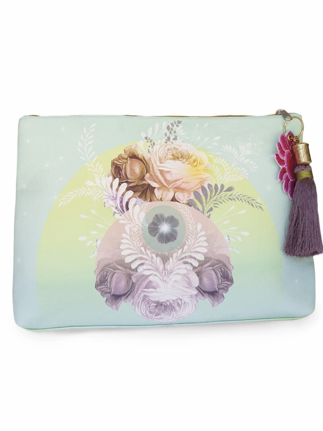 Solar Blooms Large Pouch - PAB21