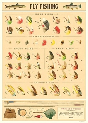 Fly Fishing Poster #407