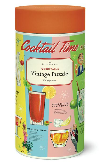 Cocktails Puzzle 1,000 Pieces