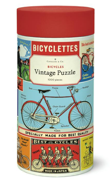 Bicycles Puzzle 1,000 Pieces