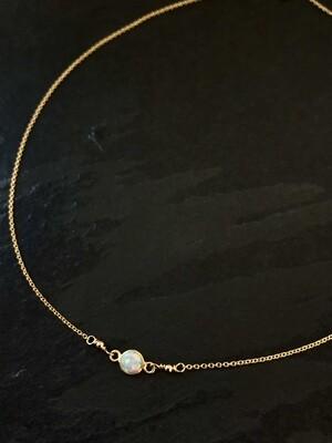 Opalescent Aphrodite Round Necklace - GDFDLKN8