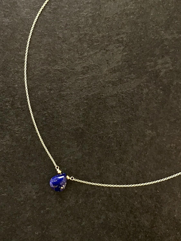 Lapis Athena Necklace - GDFDN8