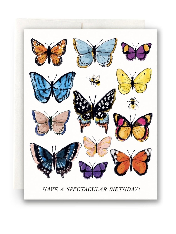 Butterfly Birthday Greeting Card - AQ30