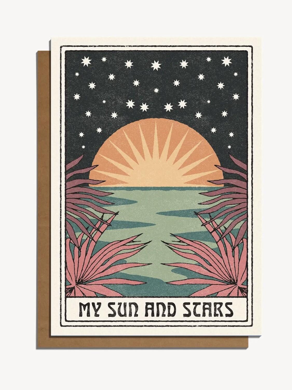 My Sun & Stars Greeting Card - CJ4