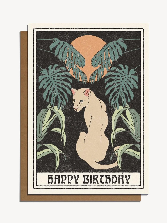 Happy Birthday Greeting Card - CJ3