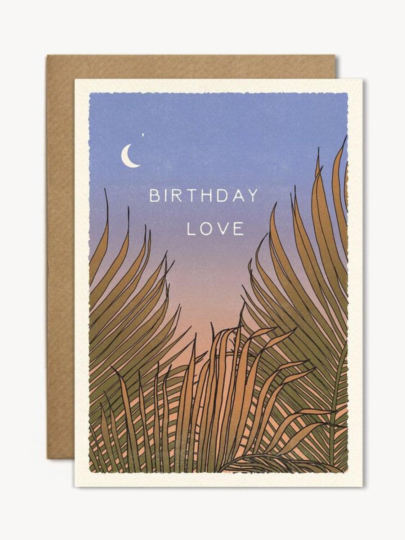 Birthday Love Greeting Card - CJ11