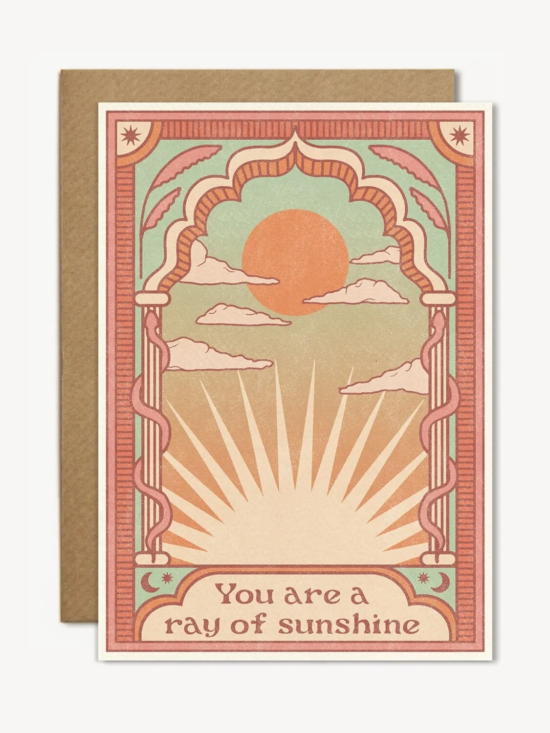 You Are a Ray of Sunshine Greeting Card - CJ12