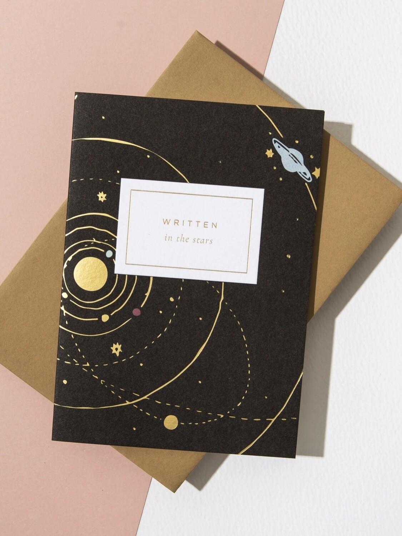 Written In The Stars Greeting Card - AL38