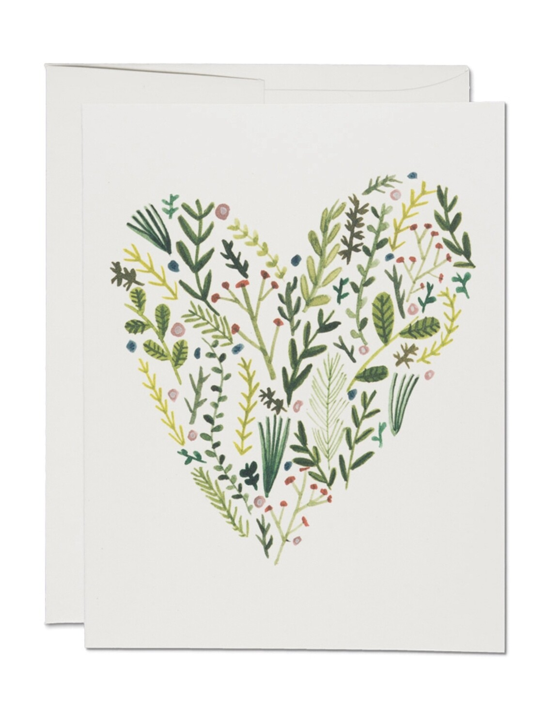 Floral Heart Greeting Card - RC33