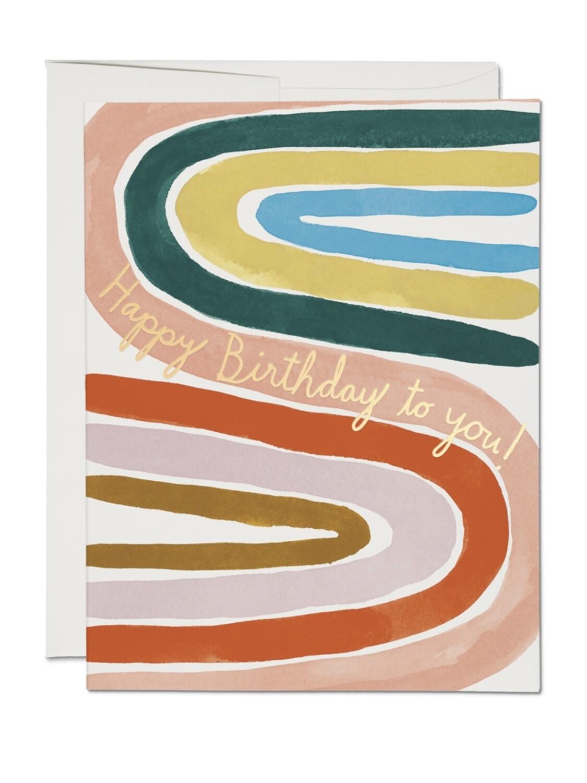 Perfect Rainbow Birthday Card - RC77