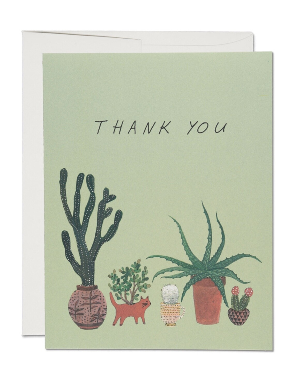 Cactus Thank You Greeting Card - RC80