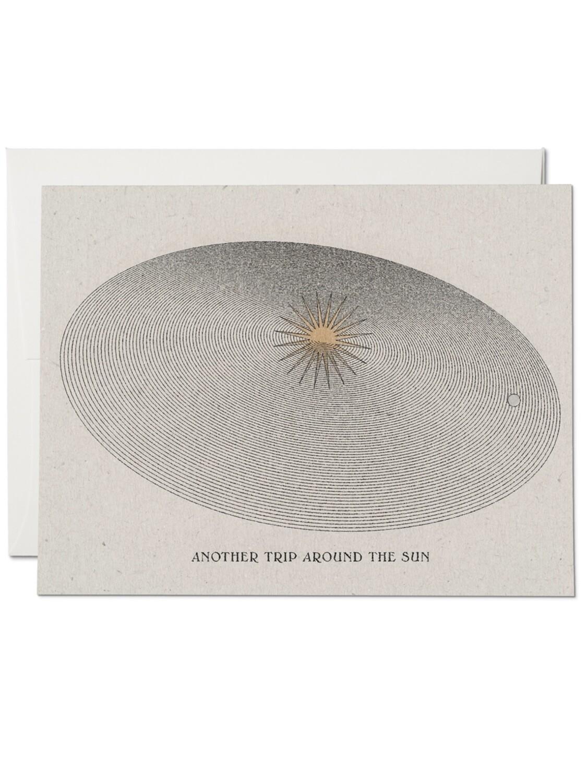 Around the Sun Greeting Card - RC72