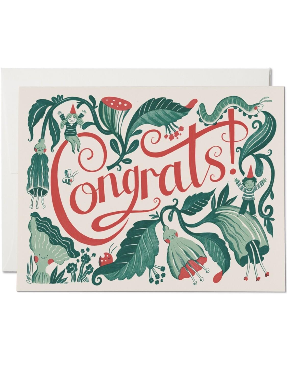 Elf Congrats Greeting Card - RC79