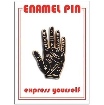 Palm Reading Enamel Pin - FFP-205