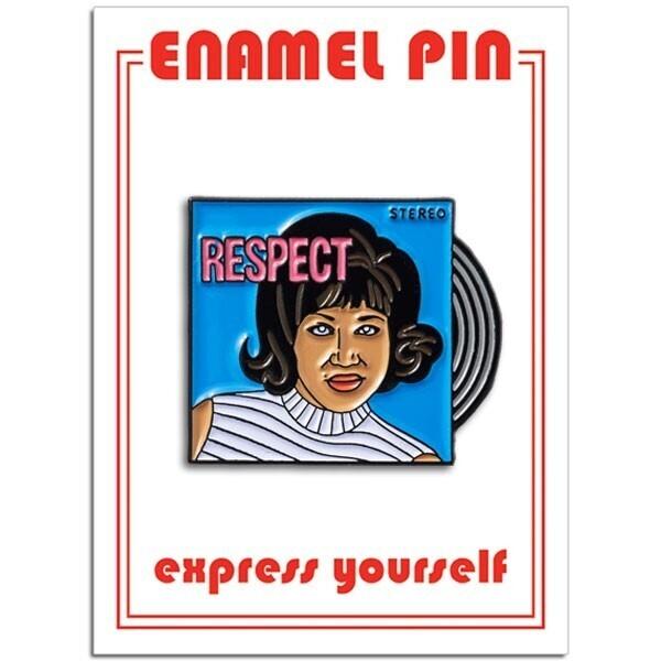 Aretha Franklin Enamel Pin - FFP-210